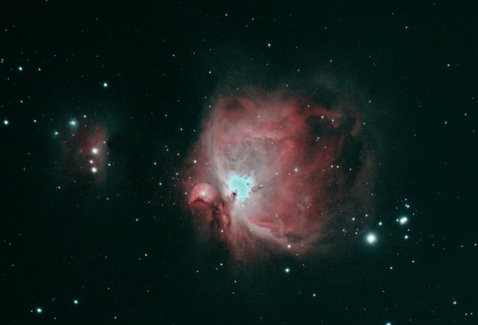 M42 with the WO Zenithstar61