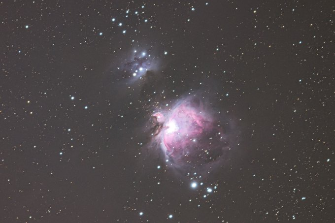 The Great nebula (M42) from Orion