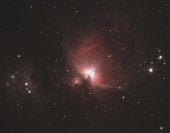 tracked Astro Photo