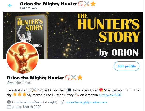 This image has an empty alt attribute; its file name is screenshot_2021-04-22-orion-the-mighty-hunterf09f8fb9e29a94e2ad90-warrior_orion-twitter.png